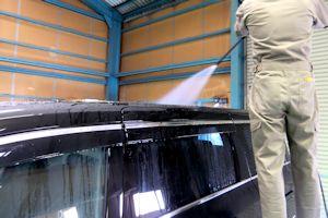 ガラスコーティング 洗車